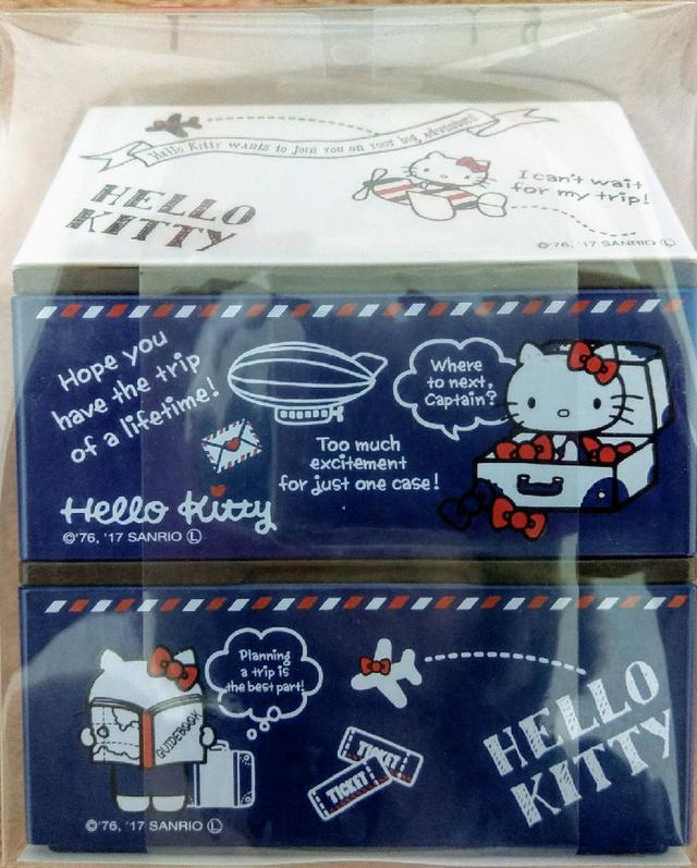 【OSK】KT空服員屋子造型便當盒