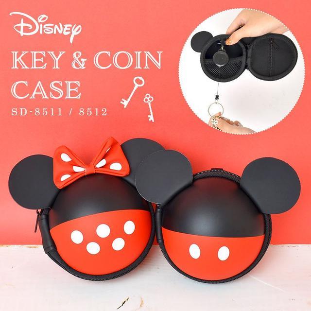 日本🇯🇵迪士尼 米奇 米妮 造型鑰匙零錢收納包掛飾(12入組)