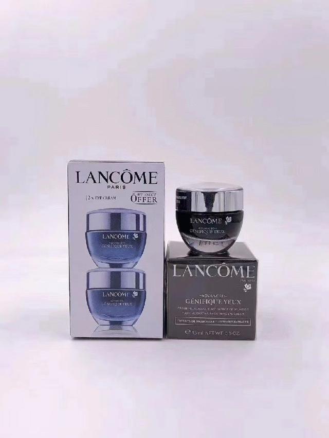 蘭蔻小黑瓶眼霜兩件套!15ml×2。