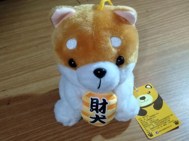 【可愛財犬娃娃】