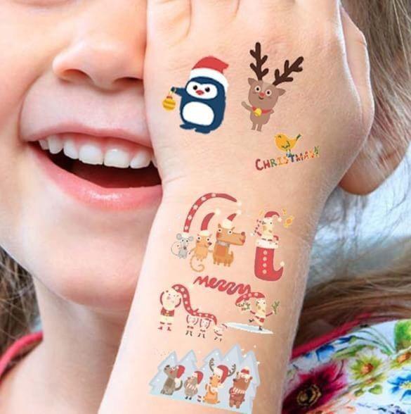 歡度聖誕節 聖誕系列紋身貼