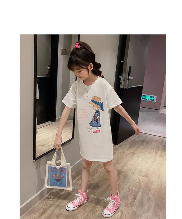 夏季~時尚公主短袖連衣裙(預購)