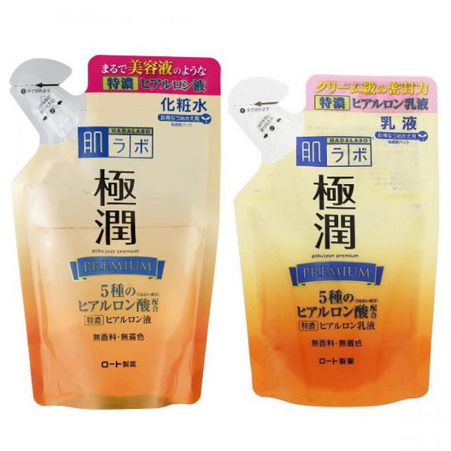 ROHTO肌研 補充包-極潤金緻高效保濕
