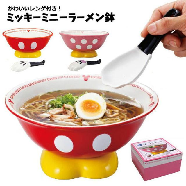 日本🇯🇵迪士尼 陶瓷照型湯碗湯匙組-3個組
