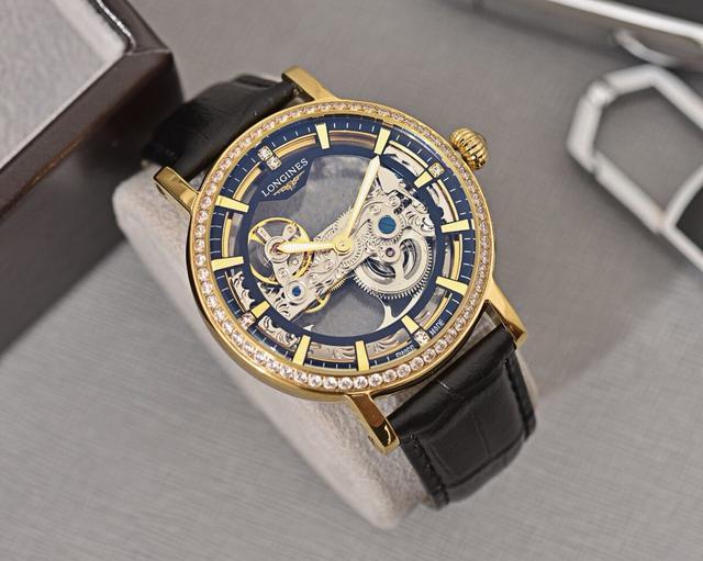 浪琴🔥最新设计🔥全新精品顶级全自动机械机芯手錶