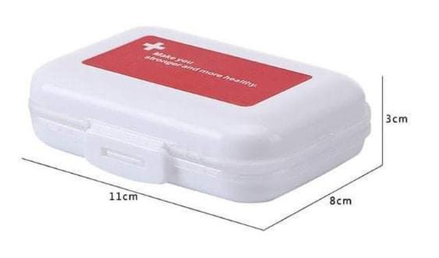 (預購S) G957 - 防潮8格雙層藥盒(一組2個)