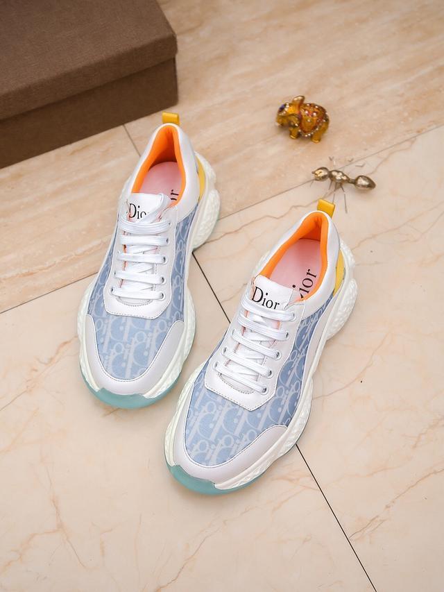 Dior迪奧 香港專櫃新款休閒男鞋上市