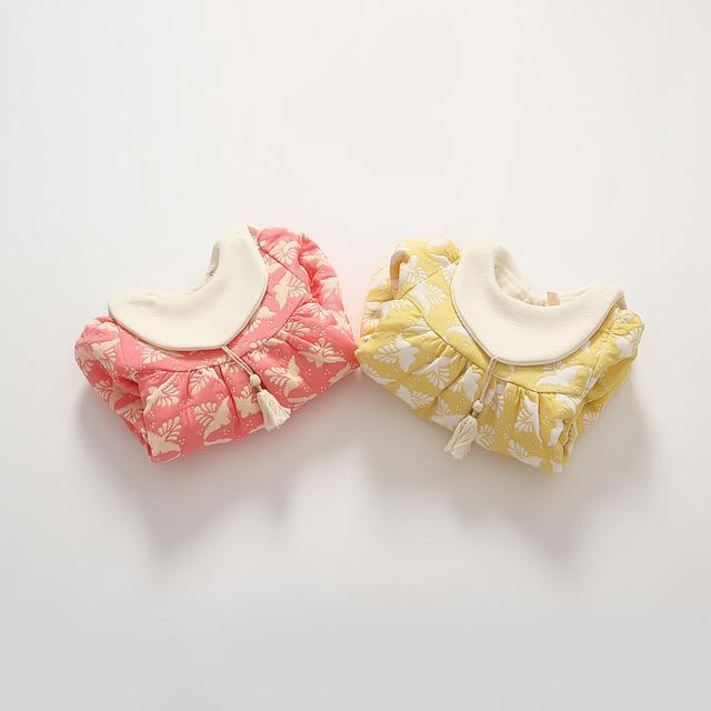 預購 嬰兒女寶寶加绒連衣裙