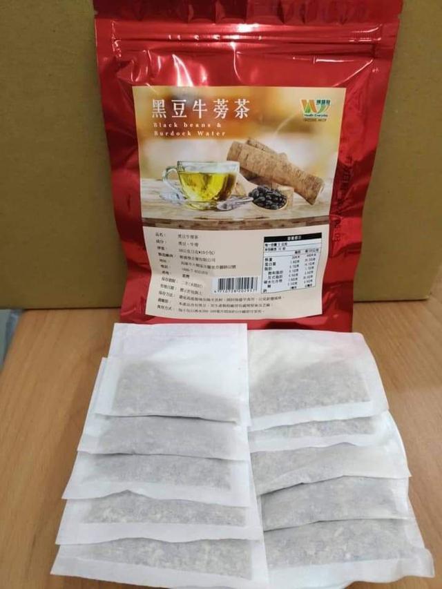 宮廷秘方黑豆牛蒡除濕茶