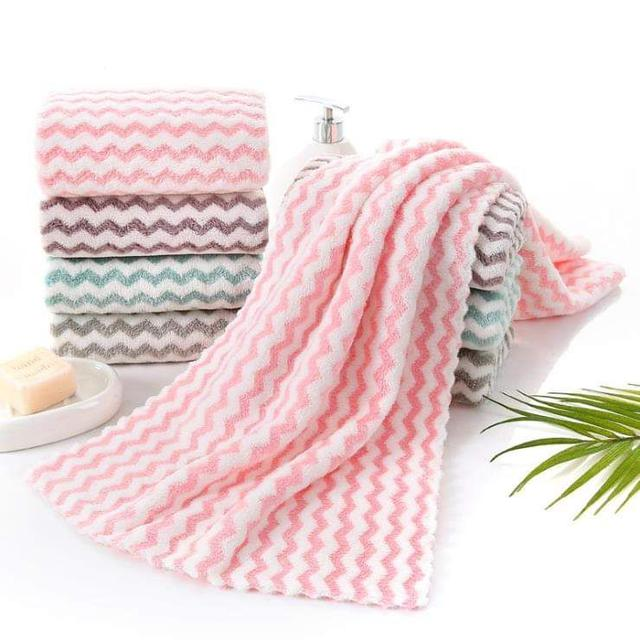 (預購S) 日系條紋強力5倍吸水毛巾