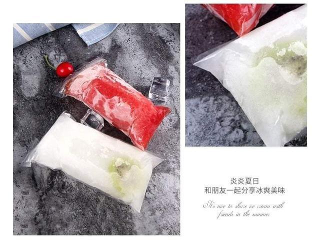(預購S) G892 - 夾鏈DIY冰棒袋20入包(一組兩包)