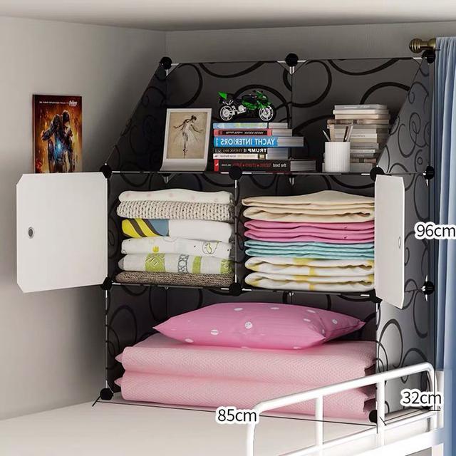 床上衣櫃 收納大學生置物架 下鋪住校必備上鋪宿舍神器