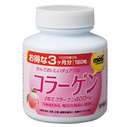 日本原裝👉ORIHIRO 膠原蛋白咀嚼錠 180粒