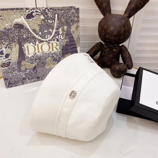 💛配防尘袋 【GUCCI古奇】2020新款简约款渔夫帽,新材质可折叠,新款上架,百搭单品