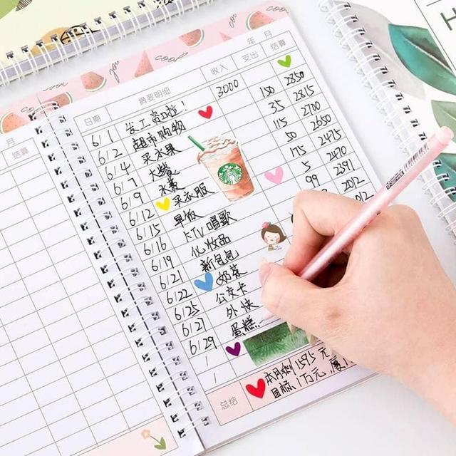 小清新生活手帳本(1組3本)