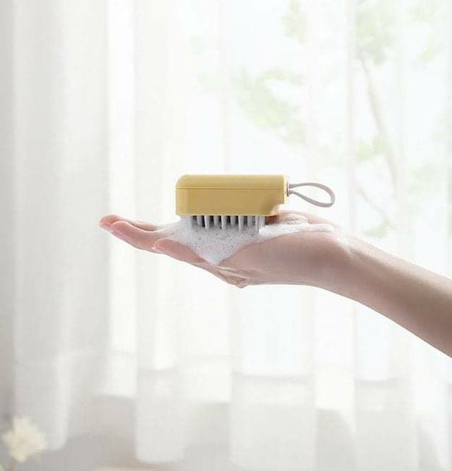 (預購S) G534 - 按摩洗頭矽膠止癢抓頭梳(一組2個)