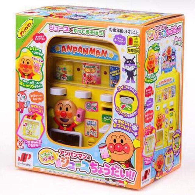 現貨 日本 正品 麵包超人 販賣機 家家酒 兒童玩具