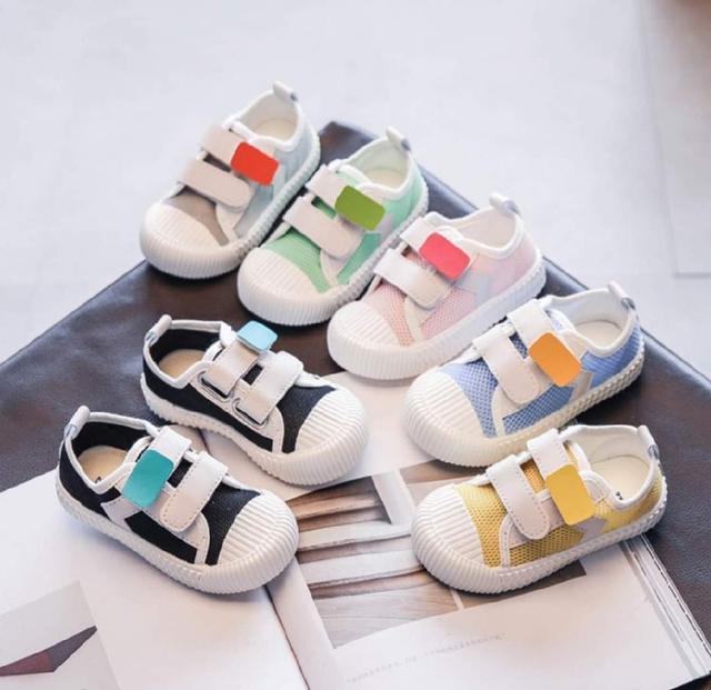 【預購】兒童糖果色休閒鞋