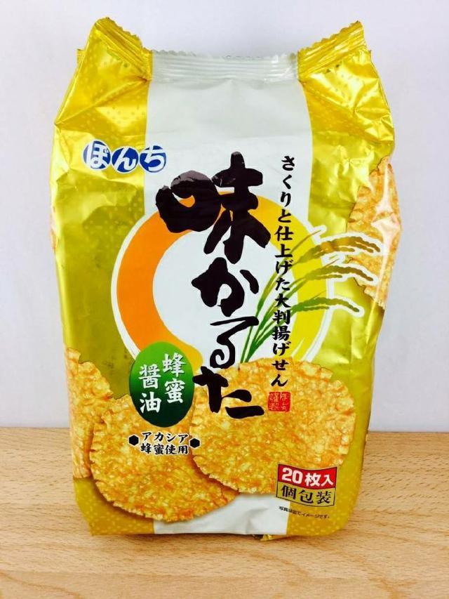 日本 Bonchi 少爺味付米果-蜂蜜醬油 20入裝