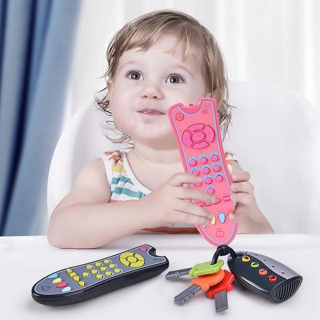 兒童模擬仿真音效電視遙控器 早教學習玩具