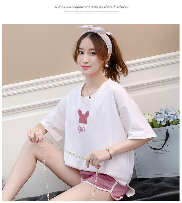 【預購】夏季新款 韓版休閒運動套裝