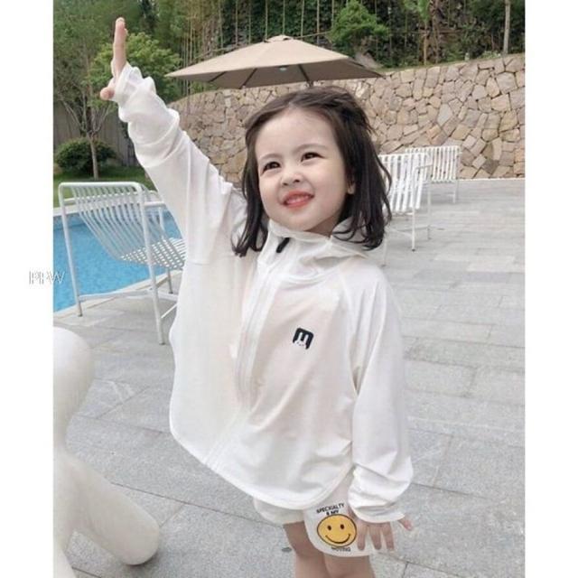 #廠商現貨-兒童款出口日本夏季必備抗UV防曬外套