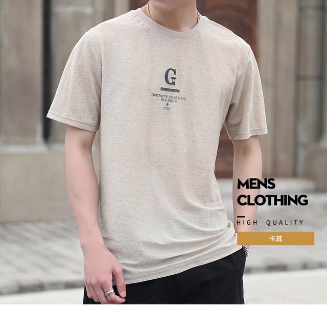 06 M-3XL 優質寬鬆潮牌短袖T恤(3色)