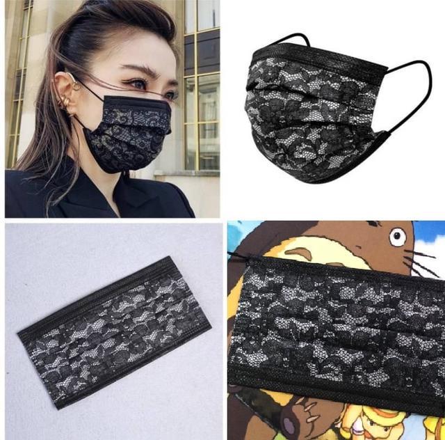 📌預購📌姐姐女神蕾絲口罩(50入/盒)