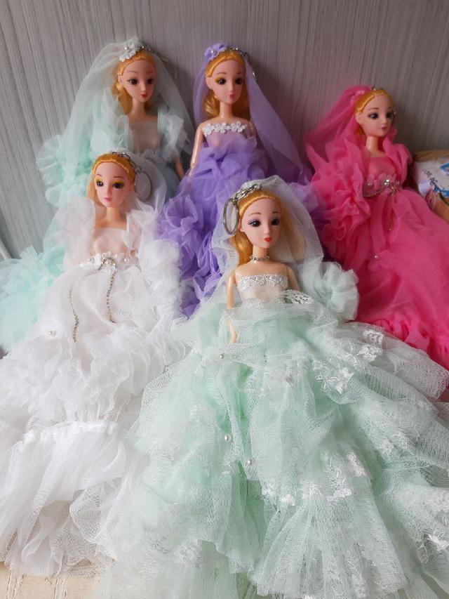 婚紗新娘芭比娃娃一批
