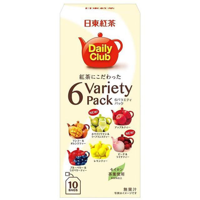 日本進口日東紅茶綜合6種水果香味
