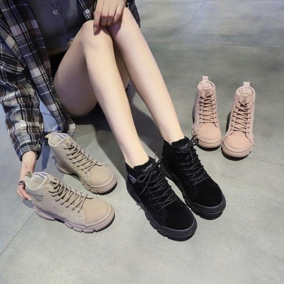 🔥19年韓系街拍高筒秋冬靴🔥