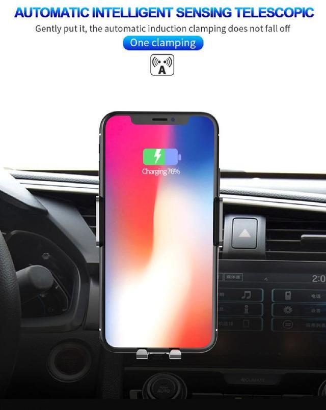車用無線充電座,2019 升級版