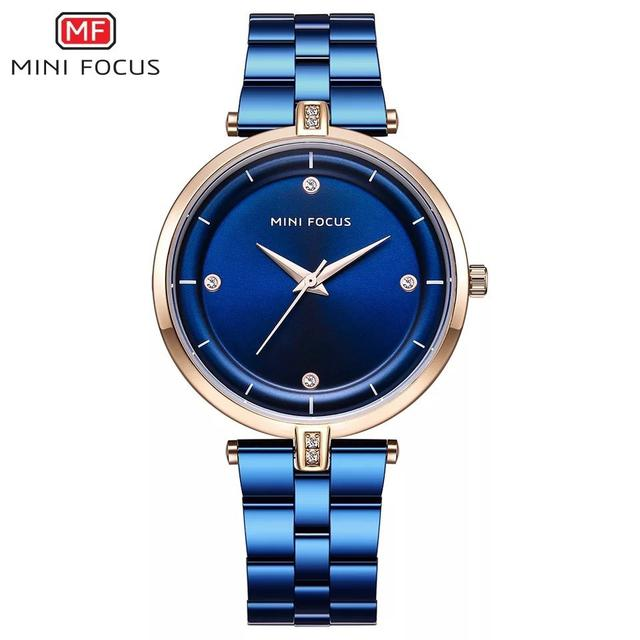 預購 - Mini Focus 精品手錶 藍色
