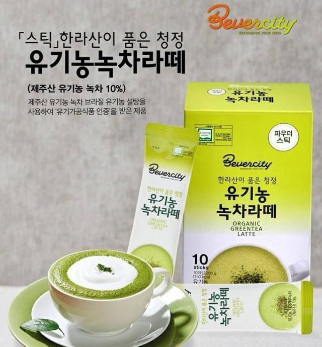 韓國 SEMI 有機綠茶拿鐵