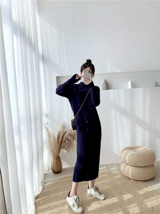 【預購】基本款針織洋裝
