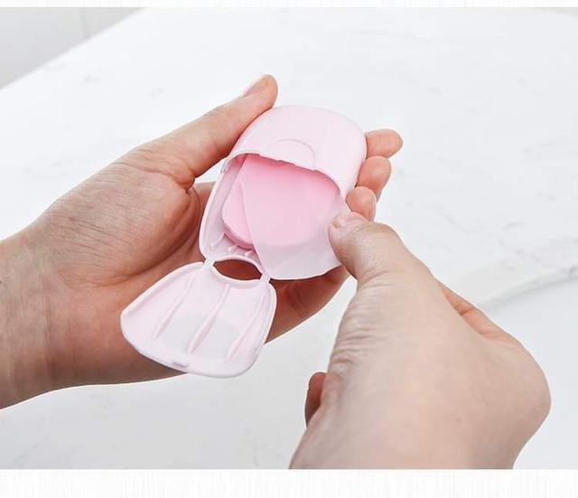 預購商品旅行肥皂紙便攜式