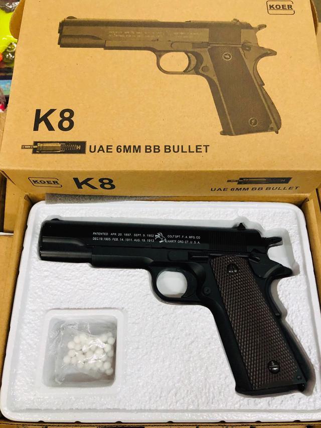 K8、K12 低動能遊戲用槍