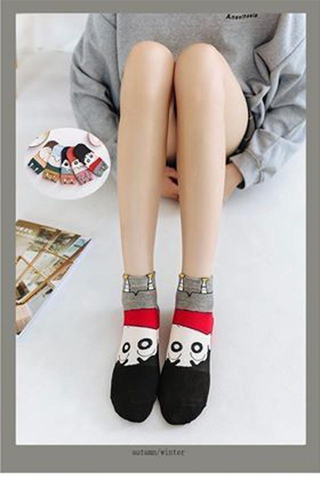 可愛蠟筆小新造型襪(1包10雙)