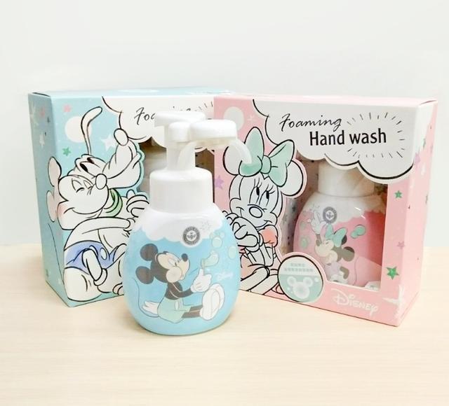 台灣米奇造型洗手清潔慕斯