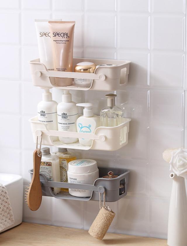 (3入)浴室廚房置物架