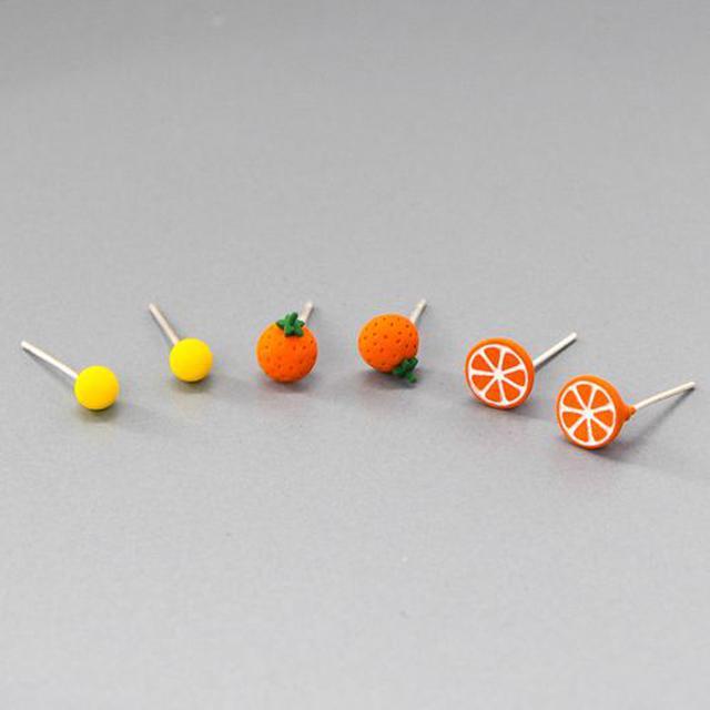 韓系酸甜柳橙耳針套組