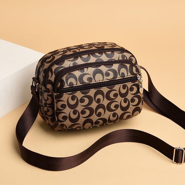 非品牌包媽媽包休閒婦女生意收錢找零多用斜挎手機包