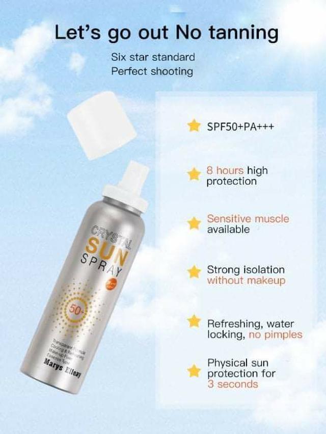 (預購S) A282 - SPF50沁涼保濕防曬噴霧