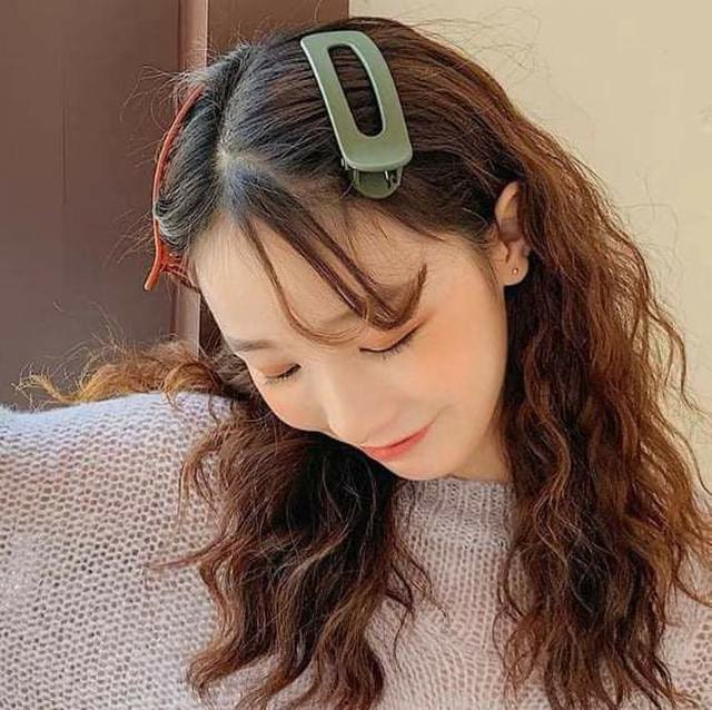 (預購S) H077 - 韓國超大號頭髮兩側夾 (一組5個)