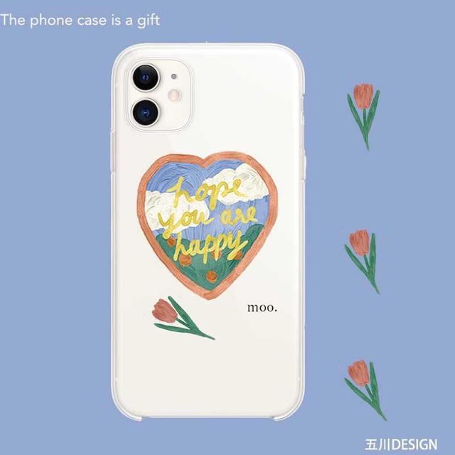 【沐莱🌙】IPhone油畫塗鴉手機殼🌷下單請註記型號
