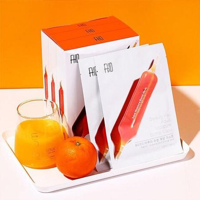 韓國 FHD 血橙面膜