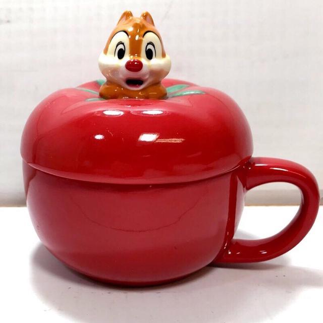現貨 日本 迪士尼 奇奇蒂蒂 陶瓷 立體 湯杯 碗 湯碗