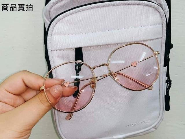 現貨2網美款超萌腮紅素顏墨鏡