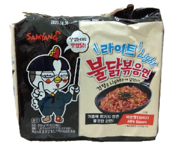 😊三養火辣雞肉風味鐵板 (輕量版)