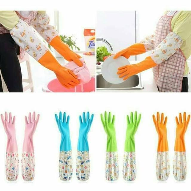 顏色隨機-年終大掃除必備手套